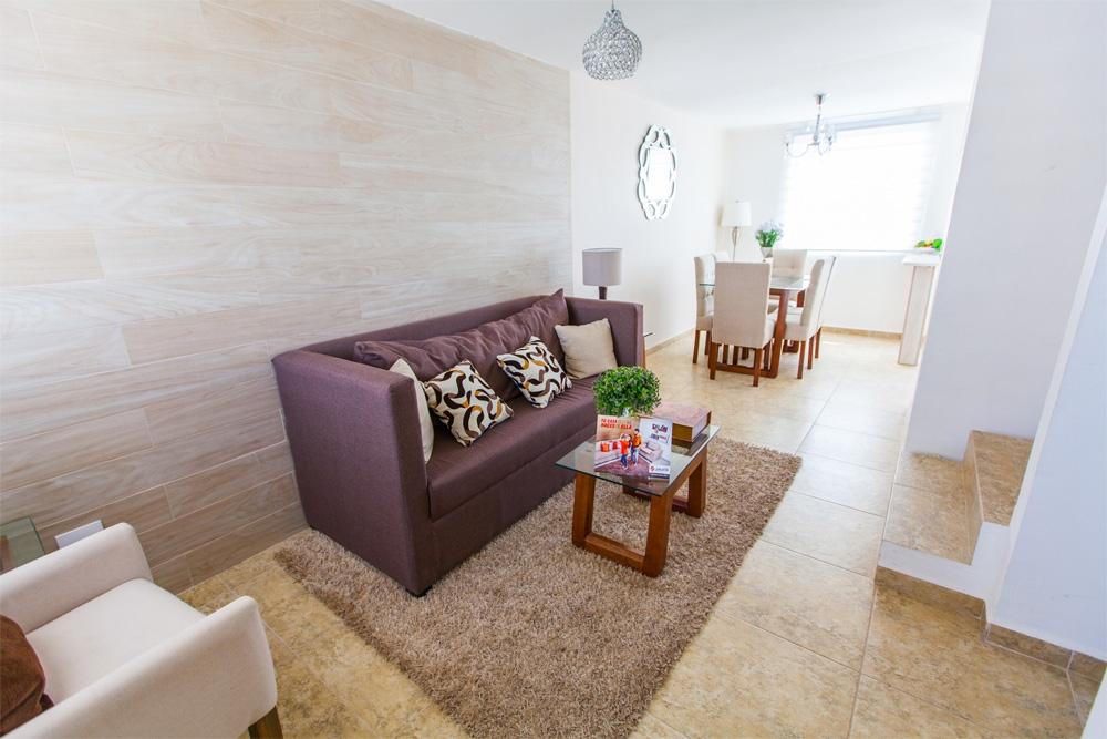 Fotografia de amplia sala de casa Javer A en Zumpango
