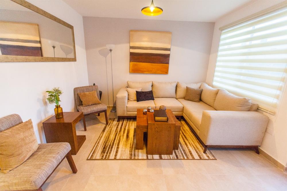 Fotografía de Sala en casa Onix de Javer en Terranostra