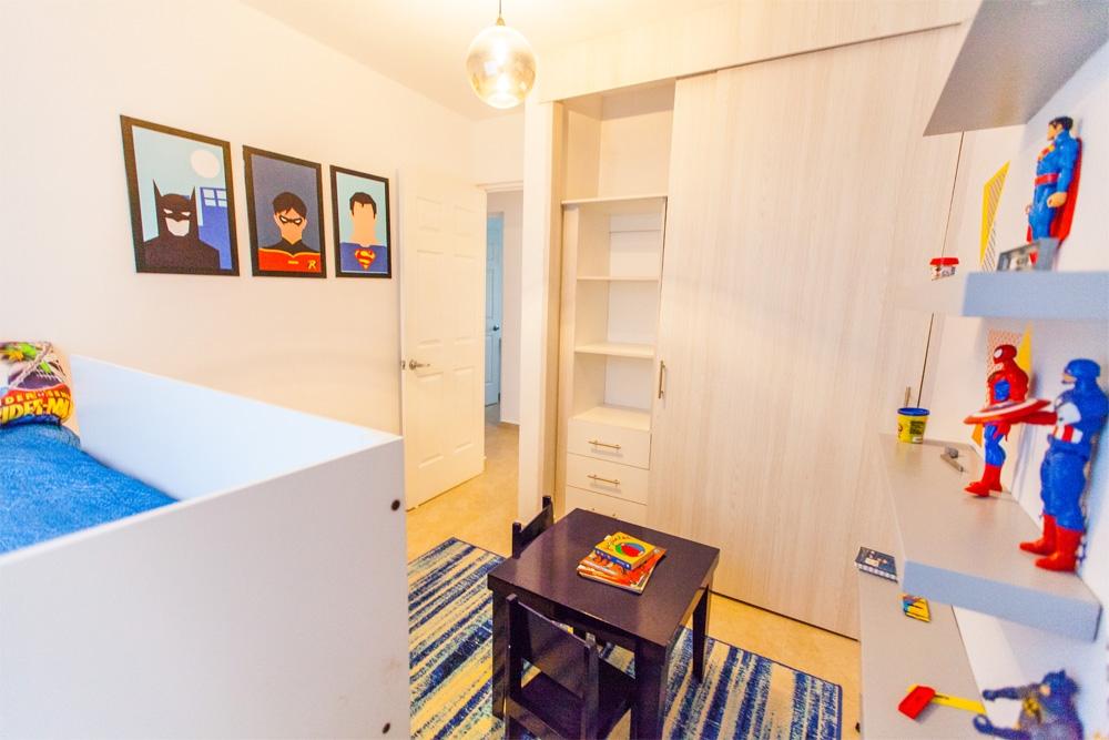 Habitación ideal para los pequeños de la casa de Javer Terranostra