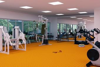 Exclusivo gimnasio dentro de Atmosfera Coyoacán de Class