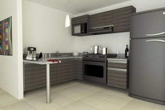 Amplia cocina en Zempoala Residencial