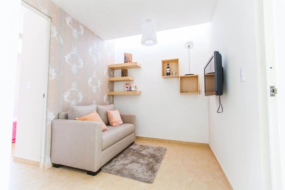 Confortable cuarto de tv modeloncino plus de Javer Residenza Privadas en Coacalco