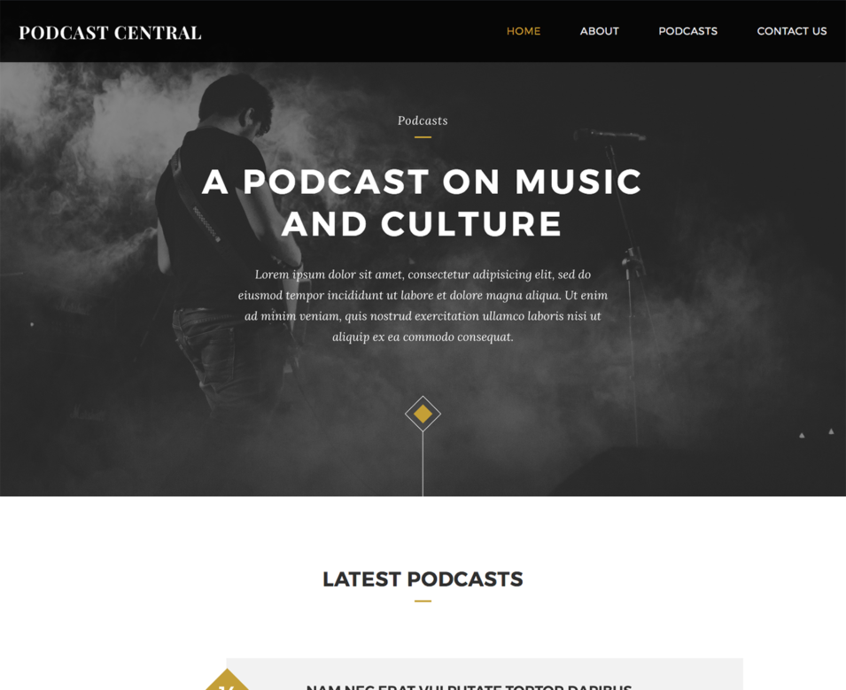 Podcast Central