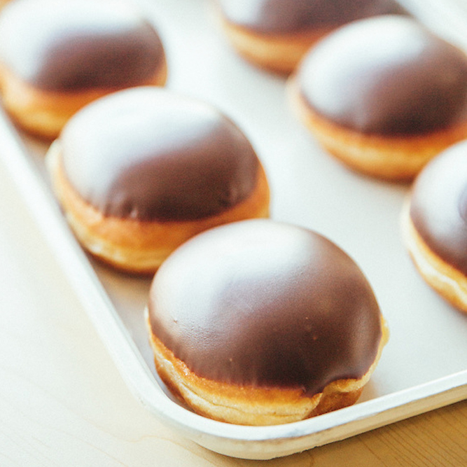 Chocolate Iced Custard Filled