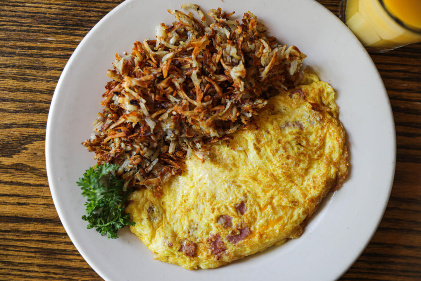 Ham & Cheese Omelette at R.J. Grunts