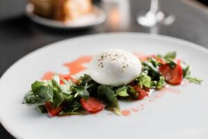 Burrata Strawberry Agrodolce at RPM Italian