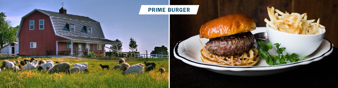 before and after for prime burger
