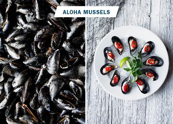 Aloha Mussels