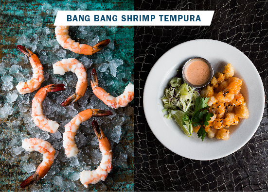 bang bang shrimp tempura