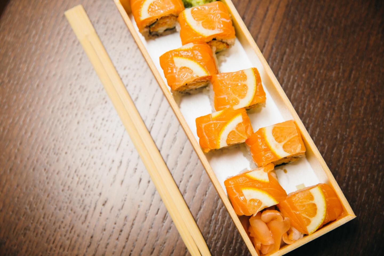 Naoki Sushi spicy shirmp