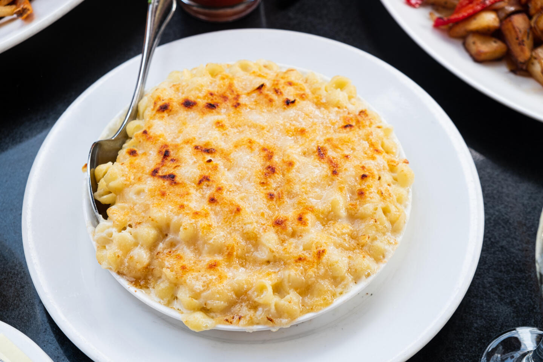 Mon Ami Gabi Mac and Cheese