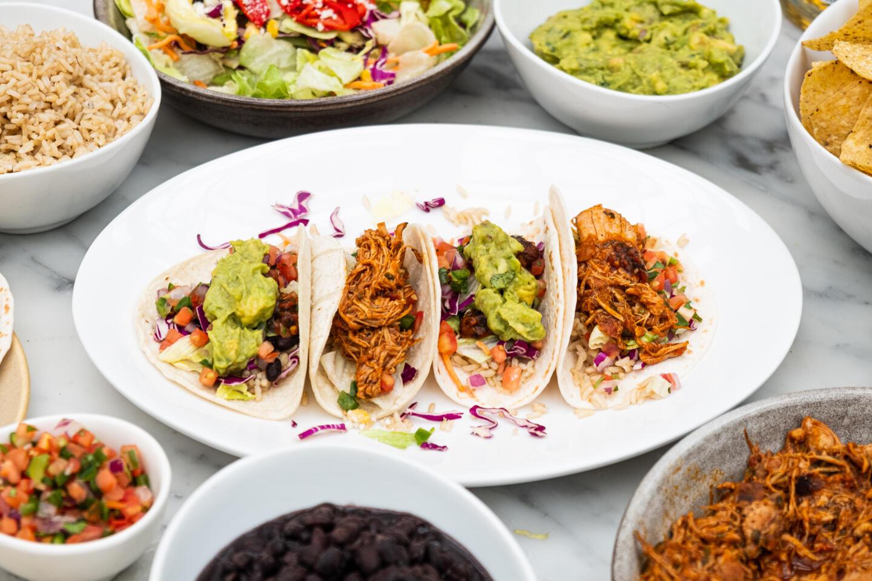 Summer House taco dinner for 4