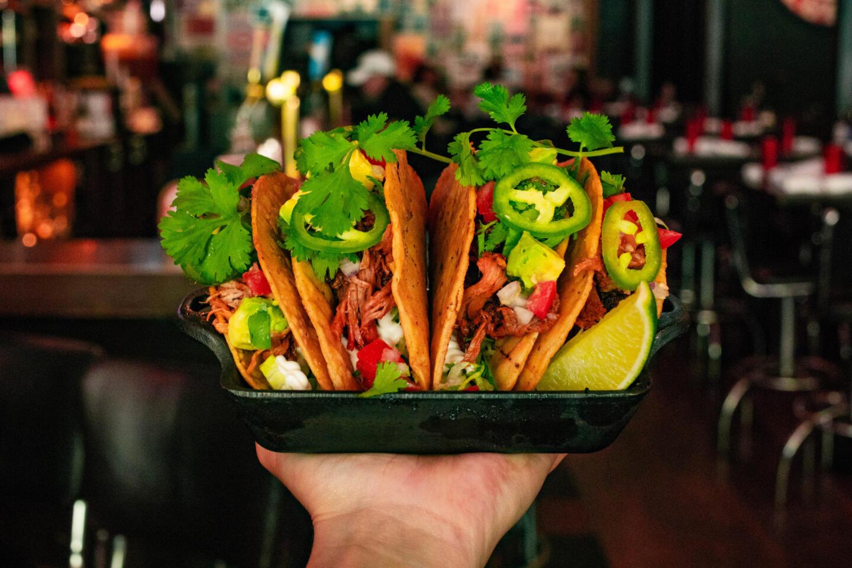 Bub city River North tacos