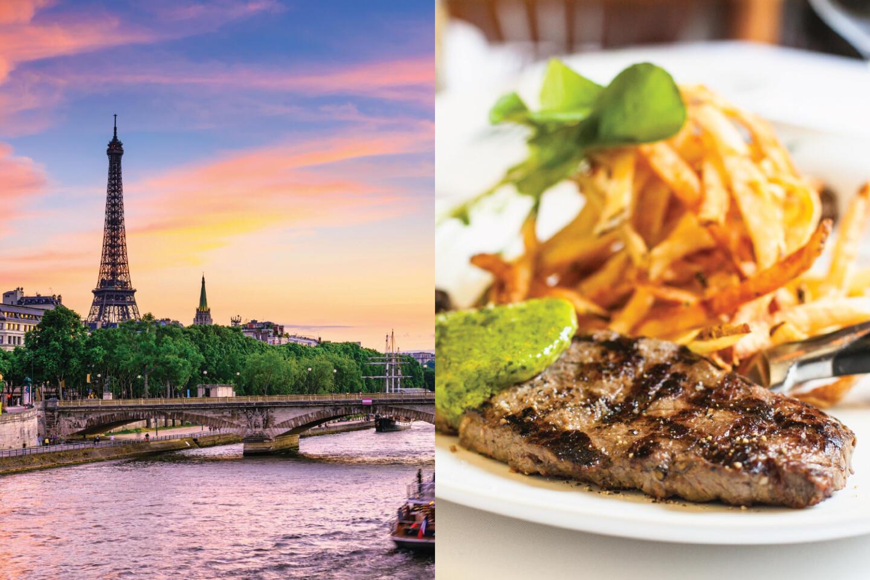 Mon Ami Gabi and Paris