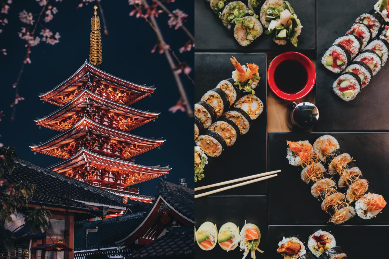 Sushi san and Tokyo