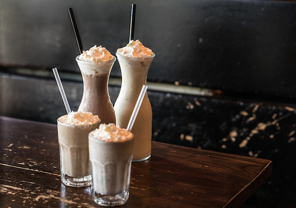 milkshakes from RJ Grunts