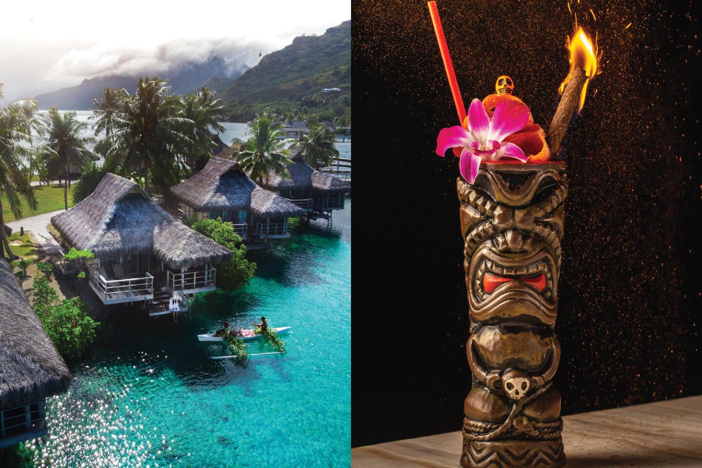 Tahiti and Three Dots and A Dash