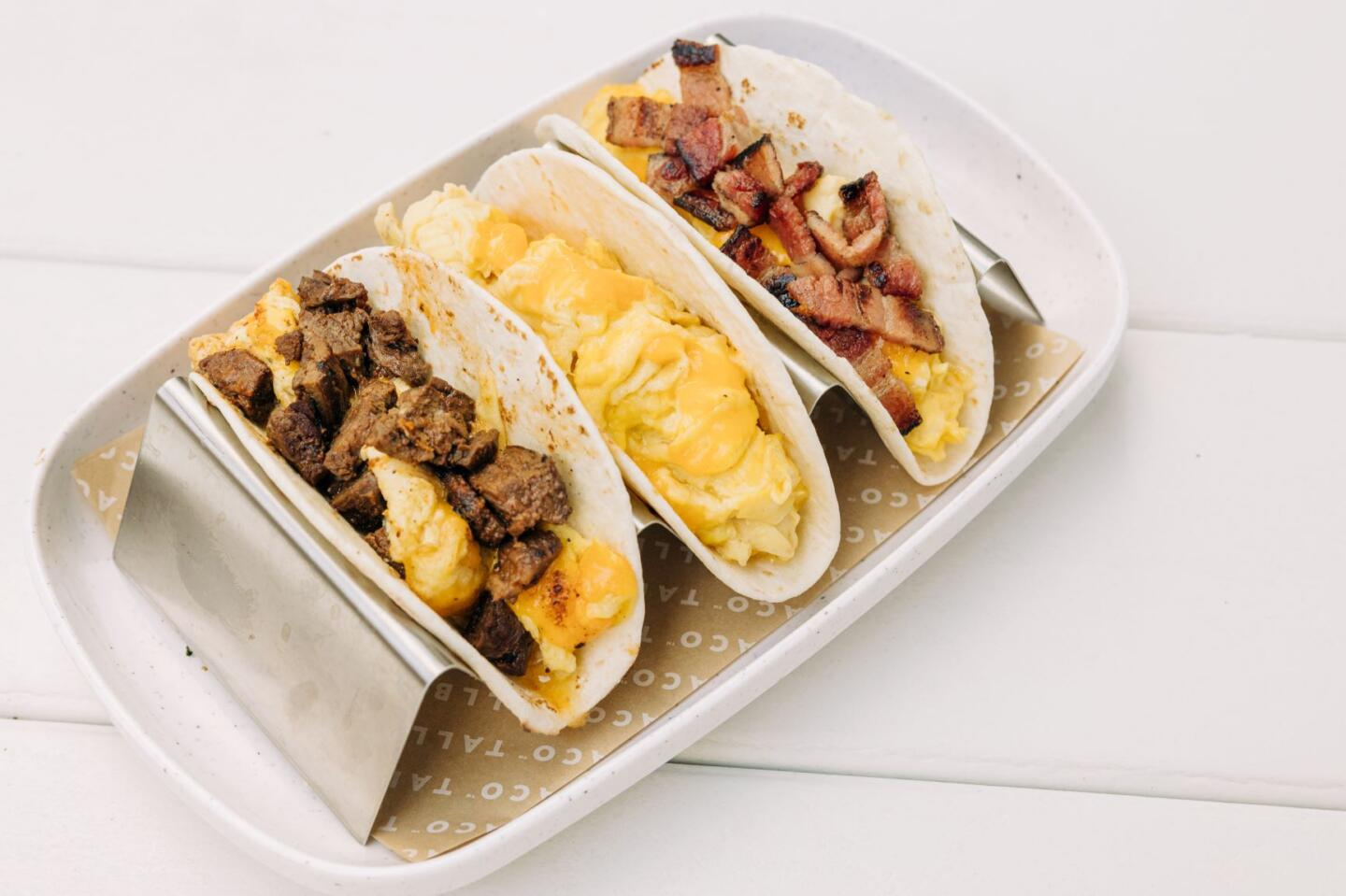Tallboy Taco breakfast tacos