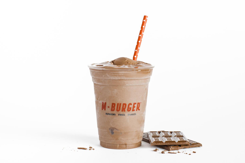 M Burger Milkshake
