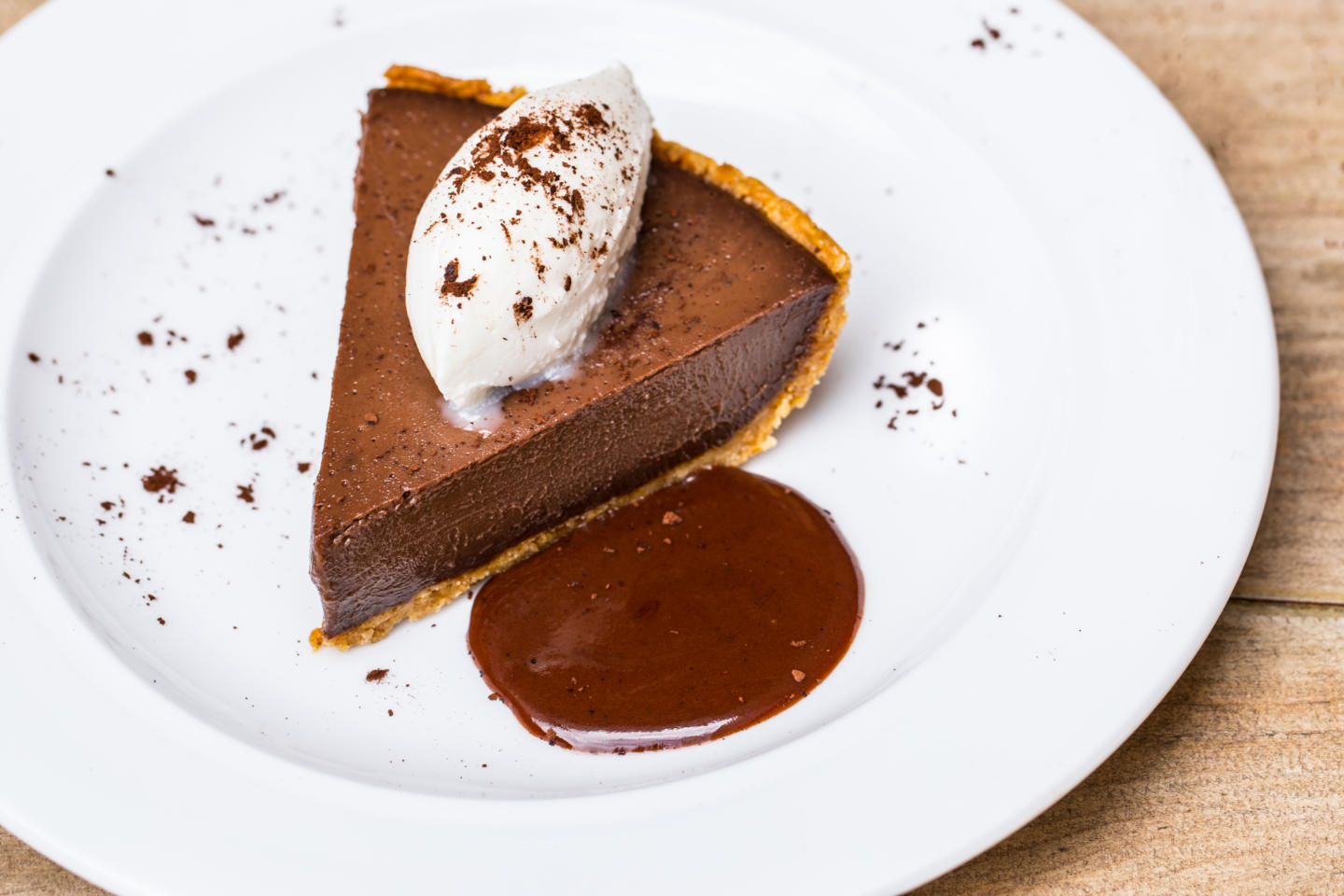 saranello's chocolate pie