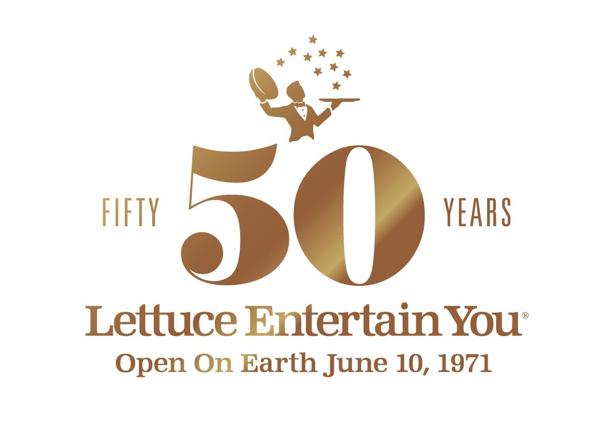 Lettuce 50th anniversary logo