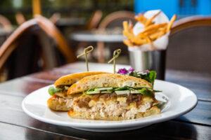Mon Ami Gabi Chicken Brie Sandwich
