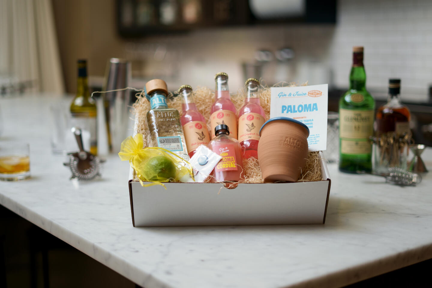 Gin and Juice Paloma Kit