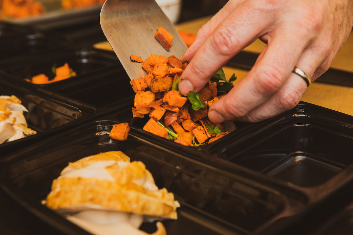 Sweet potato meal prep
