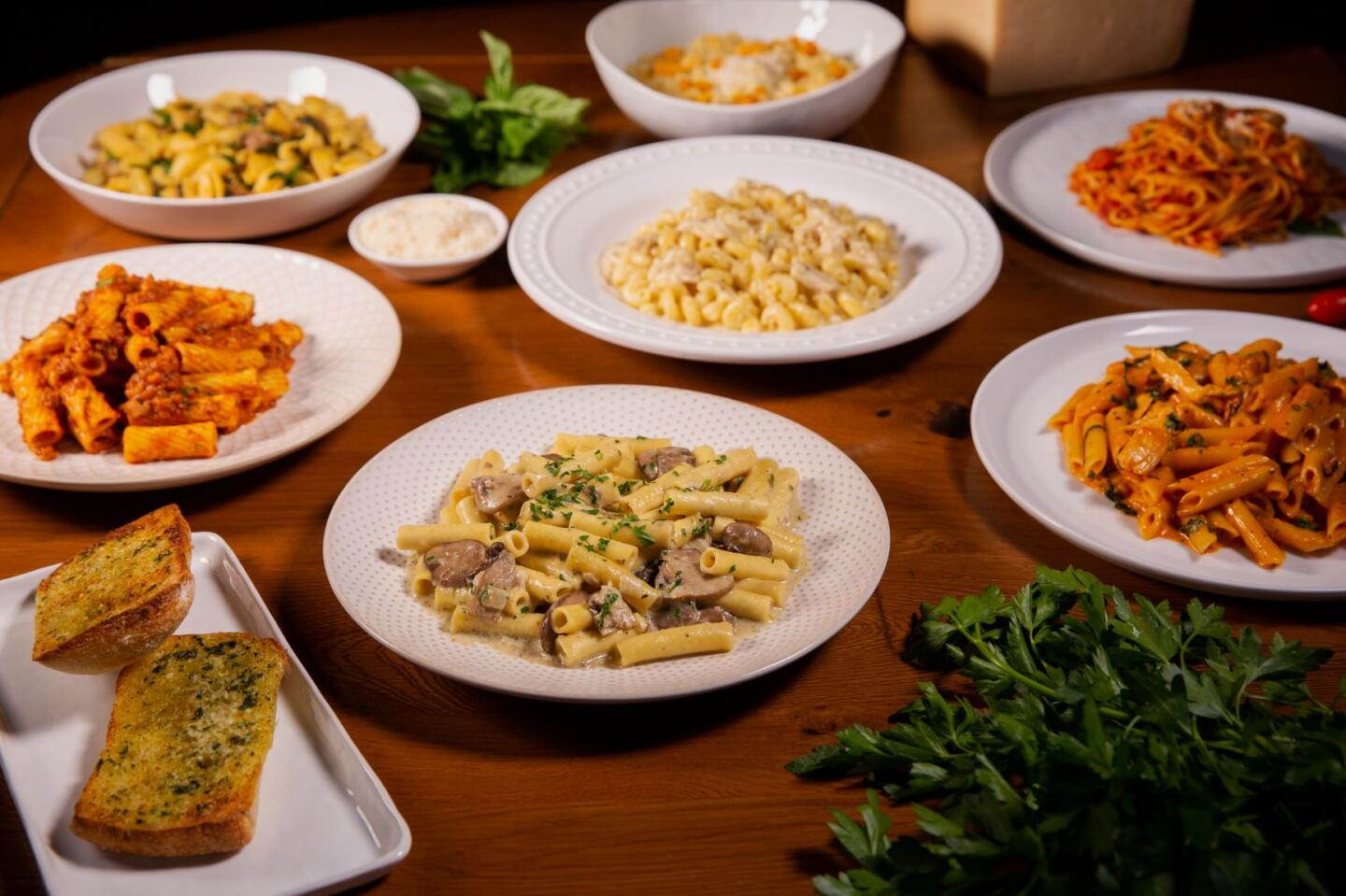 BArilla Pasta dishes