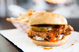 Big City Chicken Hot and Spicy Chicken Sandwich