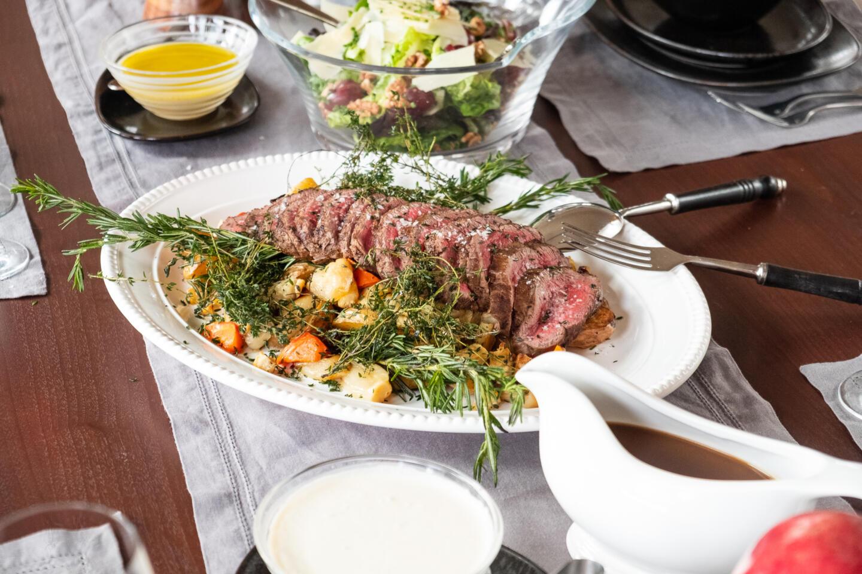 Mon Ami Gabi Parisian Holiday Meal Package Roasted Beef Tenderloin