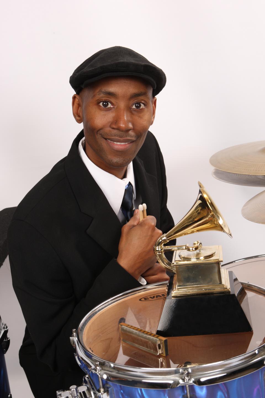 Kenny Smith with Grammy