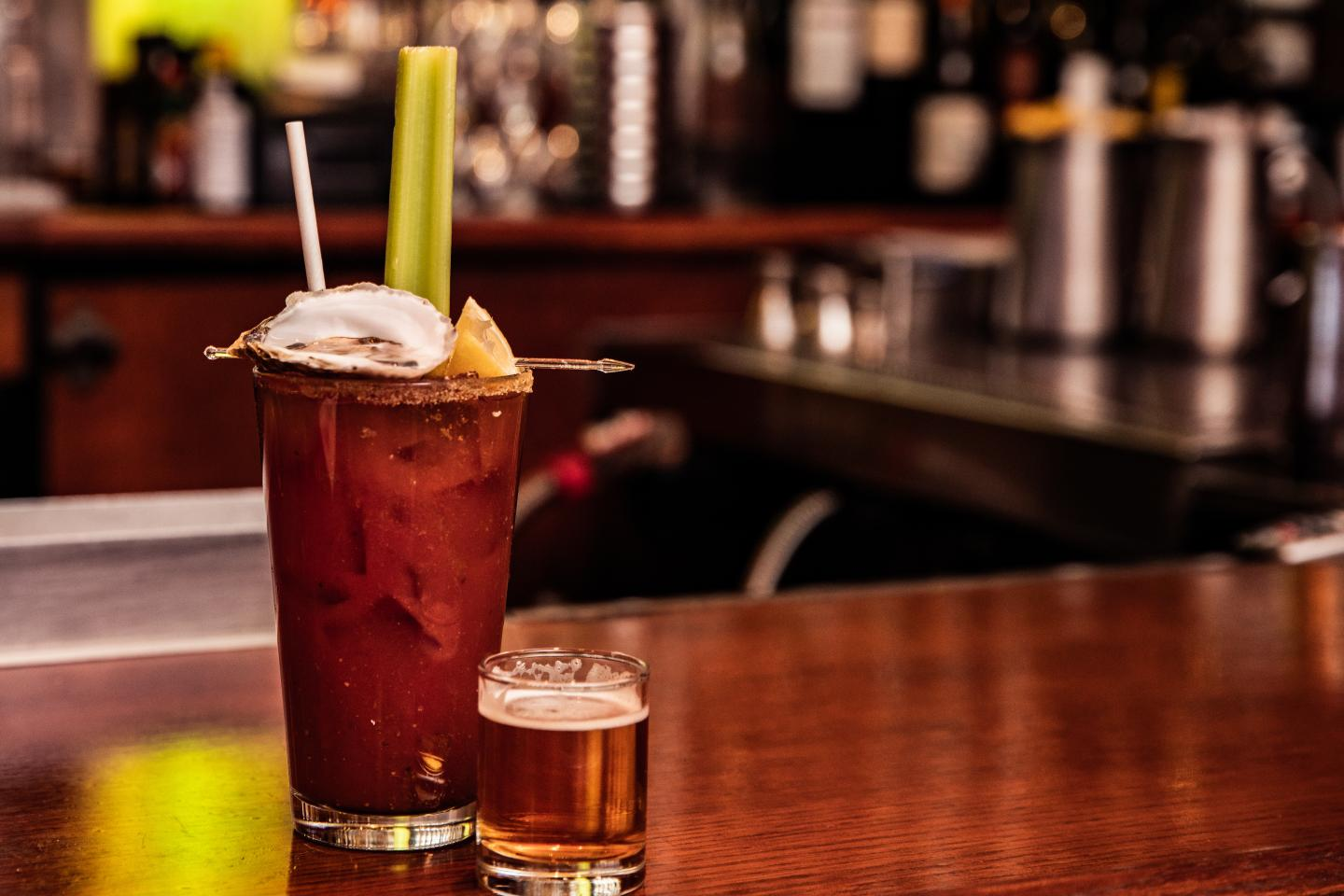 Shaw's Oyster Bloody Mary
