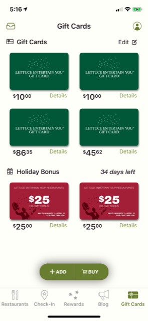 App Gift Cards