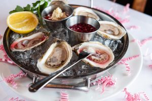 Oysters for Valentine's Day in Las Vegas