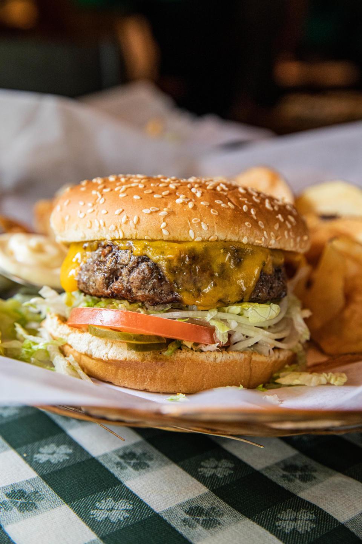 R.J. Grunts burger