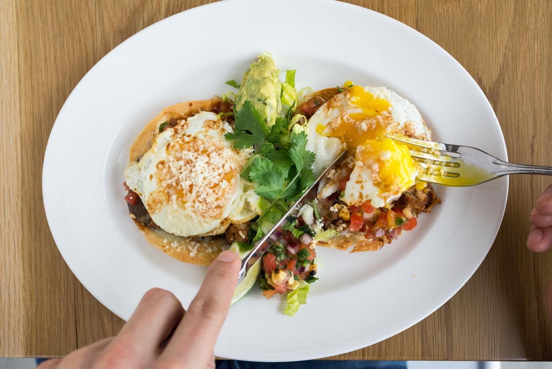 Summer House Santa Monica Breakfast Tostada