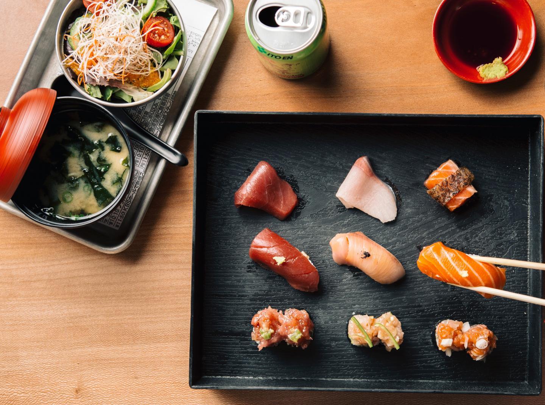 Sushi-san express lunch