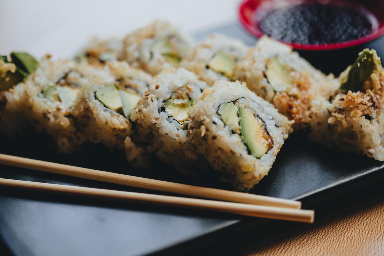 Sushi San Crunchy Avocado Roll
