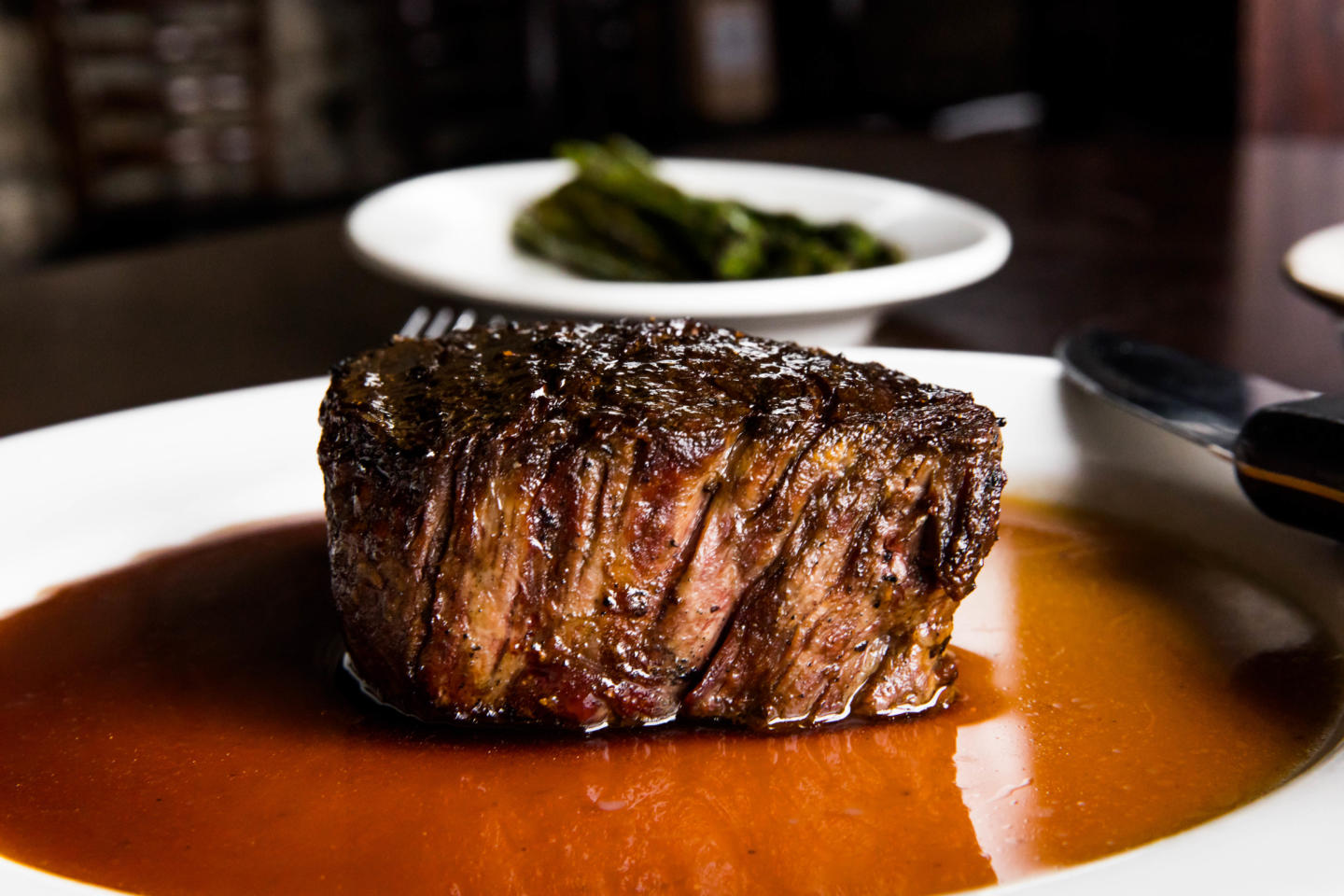 Filet of Beef on a plate - Easter Twin Cities