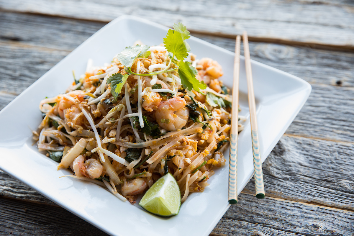 Big Bowl's pad thai