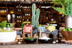 Toppings on El Segundo Sol Chilaquiles Bar