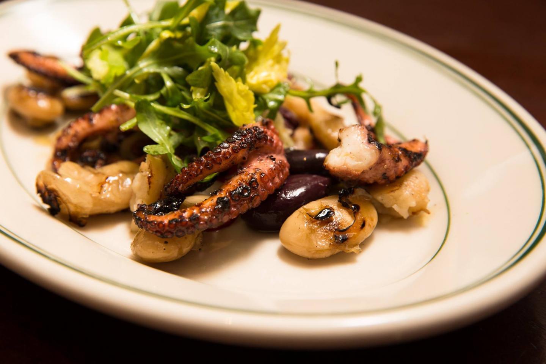 Joe's Seafood Octopus Salad