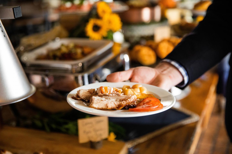brunch buffet at osteria via stato