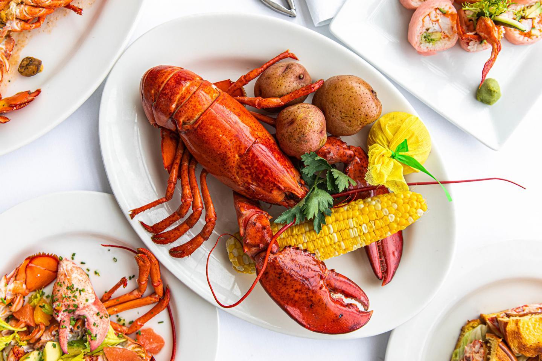 Shaw's Lobster Fest Lobster Boil