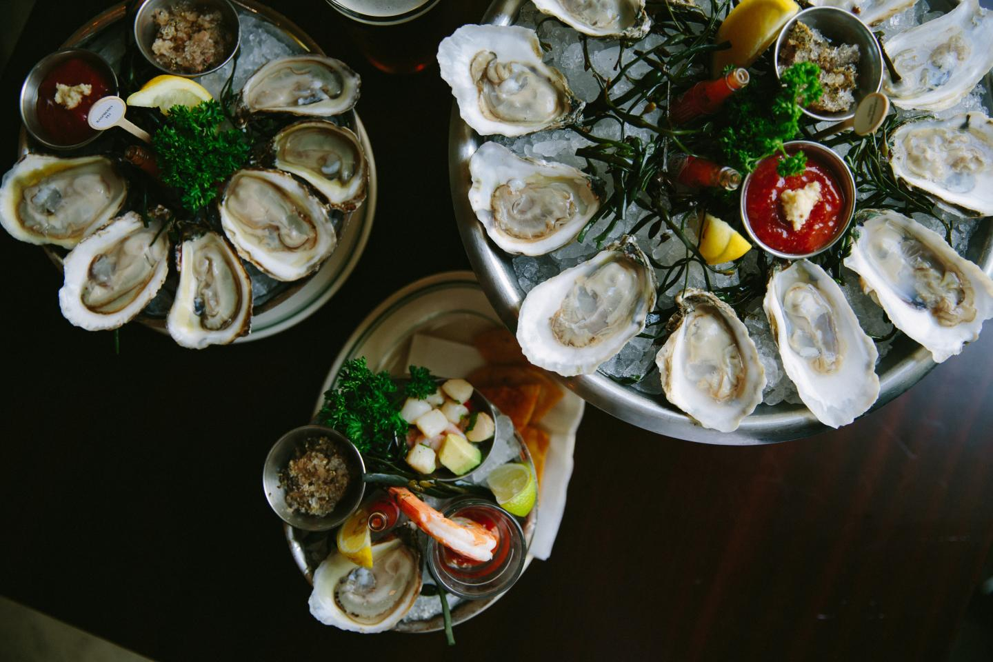 Joe's Seafood Oysters on the Half Shell labor day dc