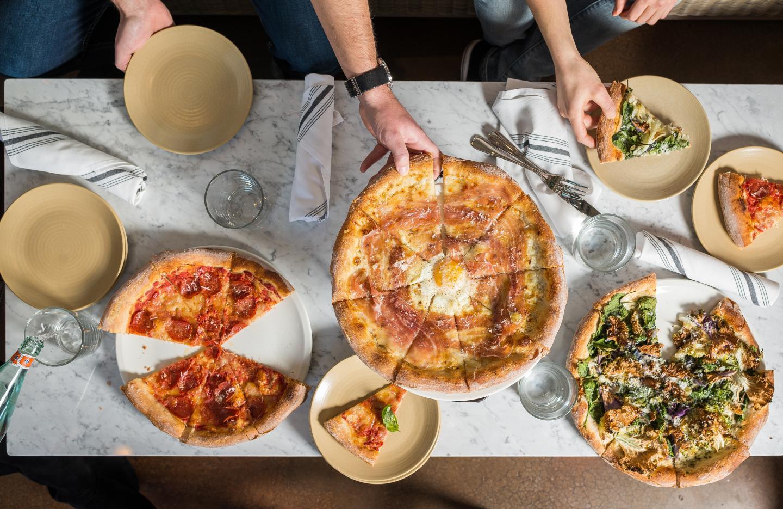 Stella Barra Under a Bushel Pizzas