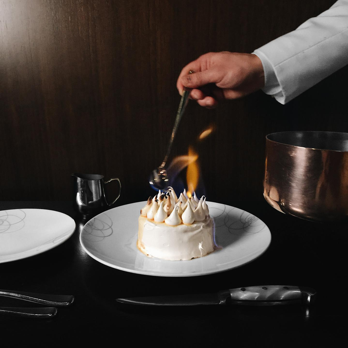 RPM Steak Baked Alaska restaurant horoscope food astrology