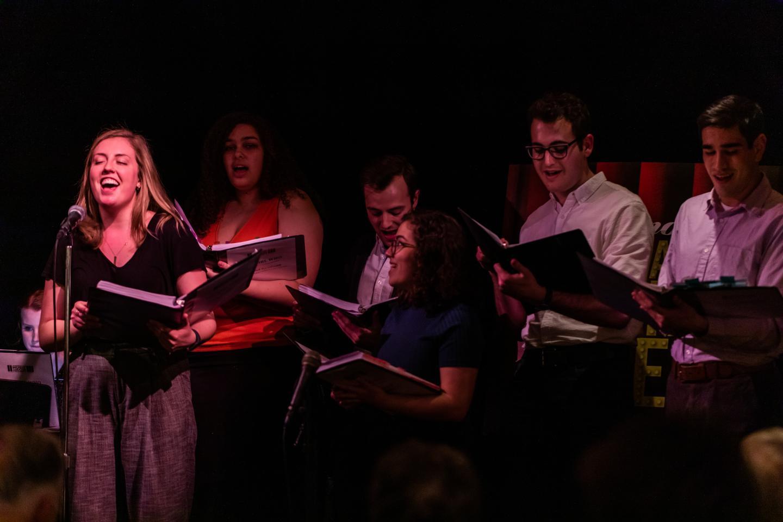 Petterino's Monday Night Live Singing Cast - Northwestern University Students