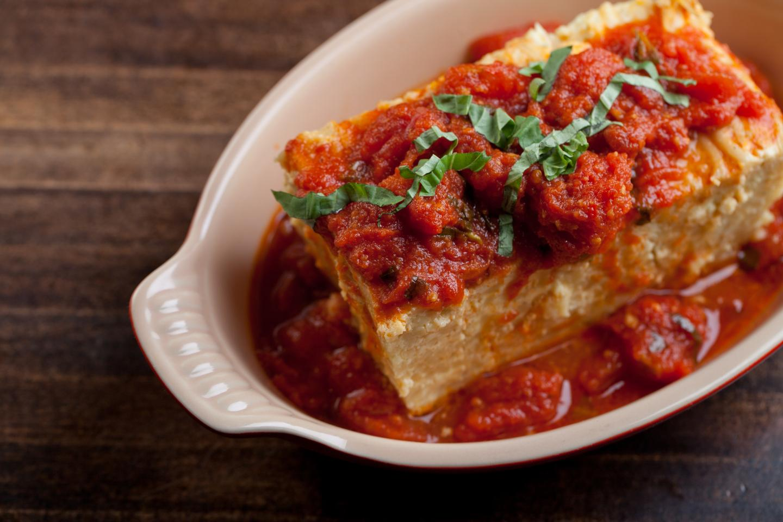 Tucci Italian Baked Spaghetti
